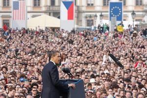 President Obama in Prague in 2009