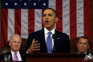 "President Obama in the State of the Union Address Feb. 12: ""America will continue to lead the effort to prevent the spread of the world's most dangerous weapons."""