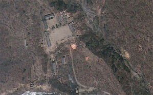 The DPRK's Punggye-ri nuclear test site April 18, 2012