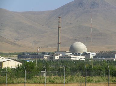 Iran is making slow progress on the Arak heavy water reactor.