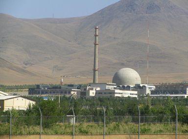Iran is making slow progress on the Arak heavy water reactor.