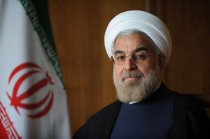 Official photo of Hassan Rouhani, the 7th President of Iran.