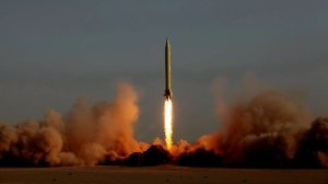 Iran tests a Shahab-3 during exercises in 2012. Photo Credit: AFP