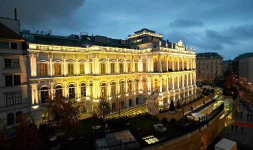 The Coburg Palace Hotel, Vienna.