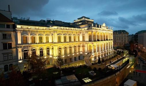 The Coburg Palace Hotel, Vienna.