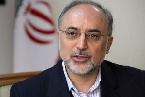 Ali Akbar Salehi, head of Iran's Atomic Energy Organization.
